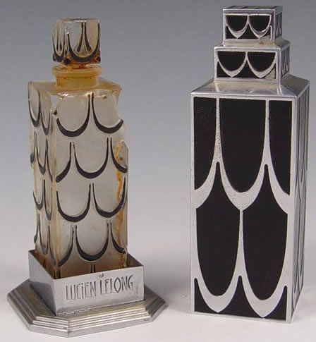 Rene Lalique Skyscraper Perfume Bottle