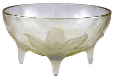 Rene Lalique Bowl Lys