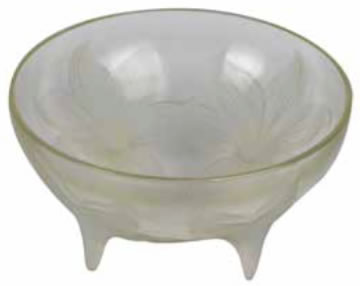 Rene Lalique  Lys Footed Bowl