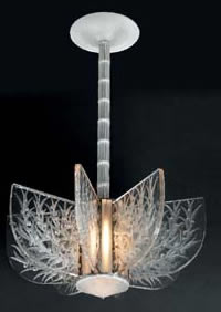 Rene Lalique Madrid-2 Chandelier