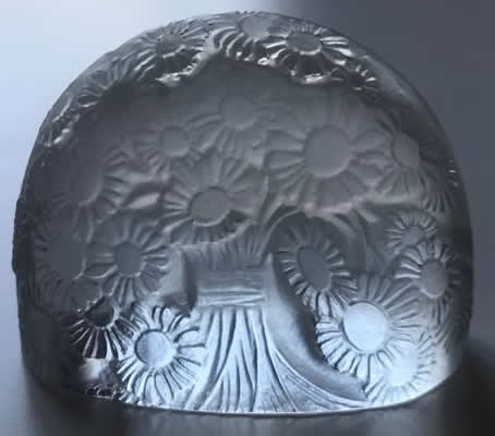 Rene Lalique  Marguerites Menu Holder