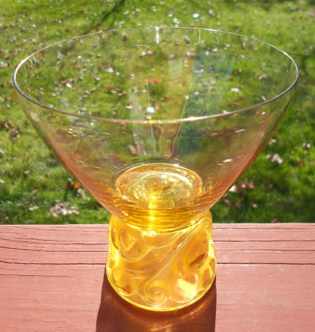Rene Lalique Marienthal Champagne Glass