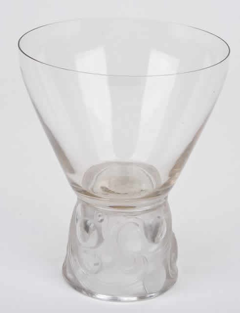 Rene Lalique Marienthal Water Glass