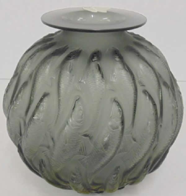 Rene Lalique Vase Marisa