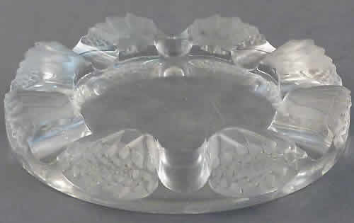Rene Lalique Martinique Ashtray
