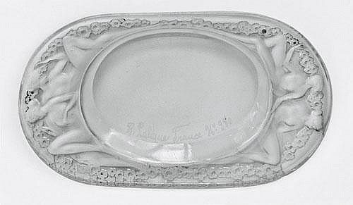 Rene Lalique Ashtray Medici