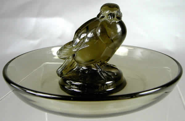 R. Lalique Moineau Ashtray