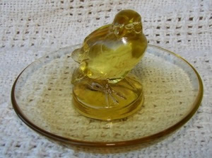 Rene Lalique Moineau Ashtray