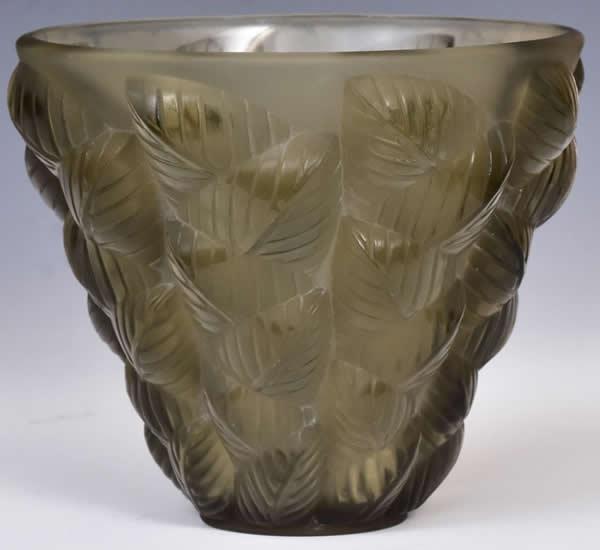 Rene Lalique Vase Moissac