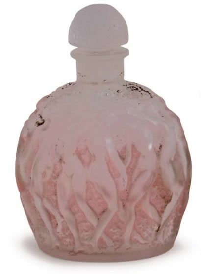 Rene Lalique Calendal Perfume Bottle