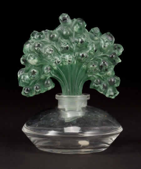 Rene Lalique Muguet Perfume Bottle