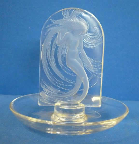Rene Lalique Naiade Ashtray