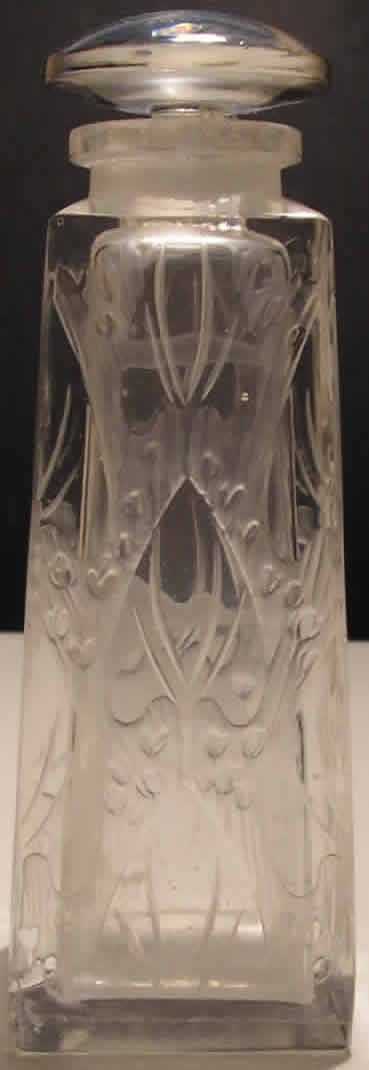 Rene Lalique Nenuphar Perfume Bottle