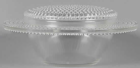 Rene Lalique Covered Bowl Nippon-4