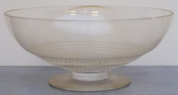 R. Lalique Nippon-3 Fruit Bowl