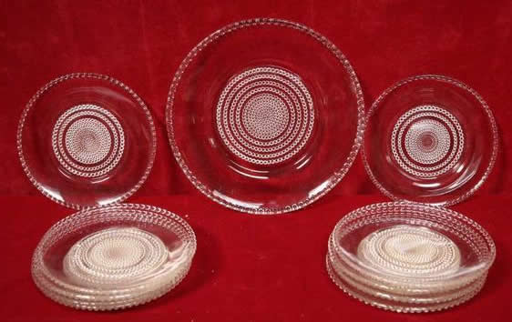 R. Lalique Nippon Lunch Plate