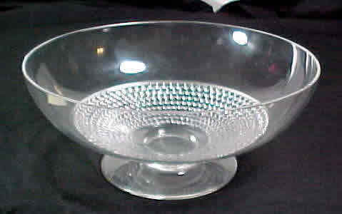 R. Lalique Nippon-3 Footed Bowl
