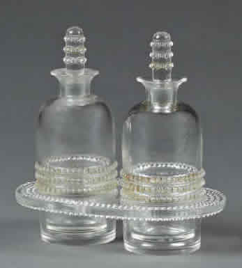 Rene Lalique Nippon Oil and Vinegar