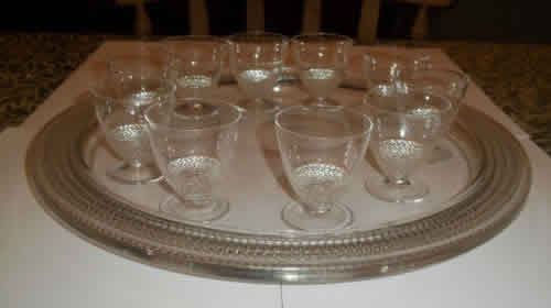 R. Lalique Nippon-6 Tray
