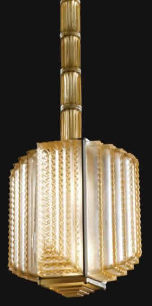 Rene Lalique Normandie Chandelier