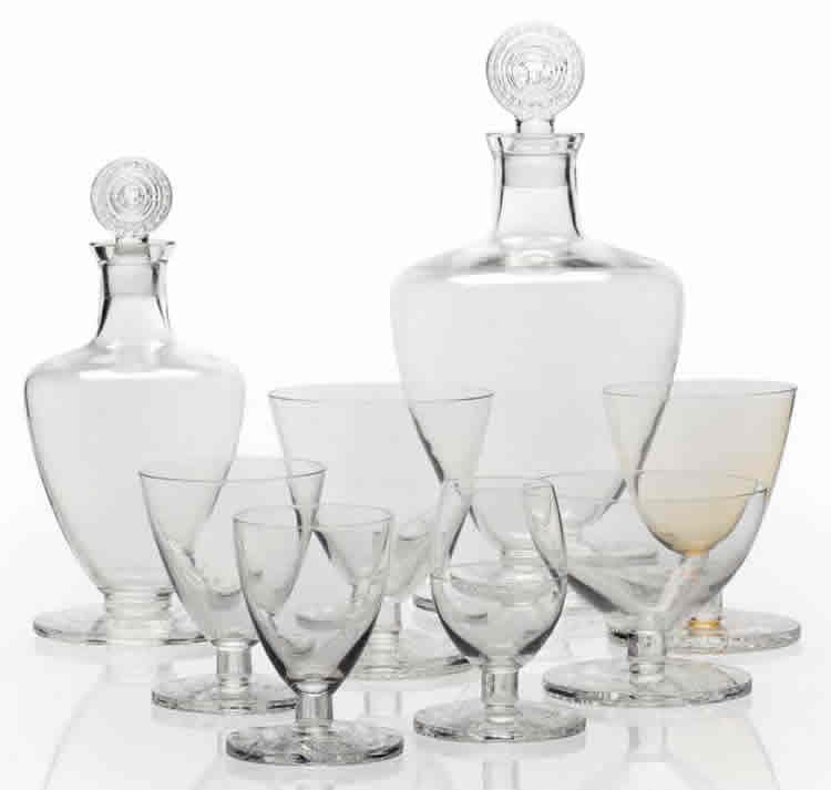 Rene Lalique Normandie Tableware