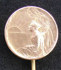 Rene Lalique Nurse and Soldier-2 Stickpin