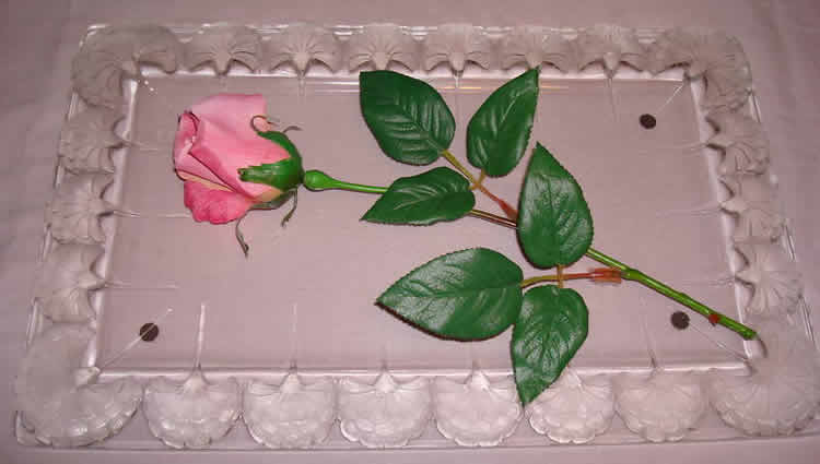 Rene Lalique Oeillets Tray