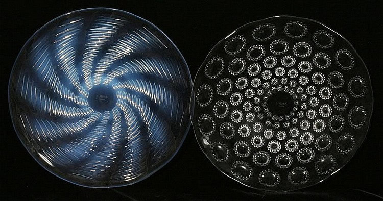 Rene Lalique Plate Ondes