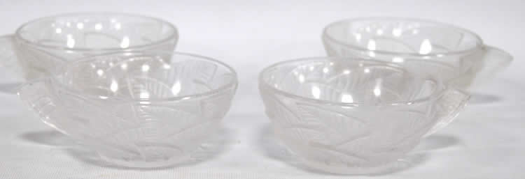 Rene Lalique Coffee Cup Ormeaux