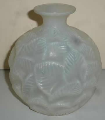 Rene Lalique Vase Ormeaux