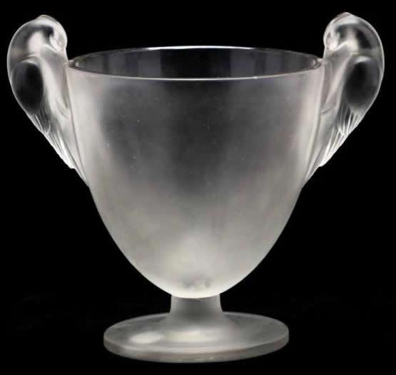 Rene Lalique Vase Ornis