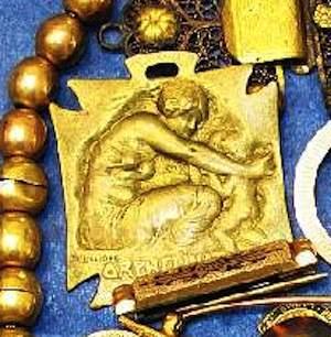 Rene Lalique Medal Orphelinat Des Armees