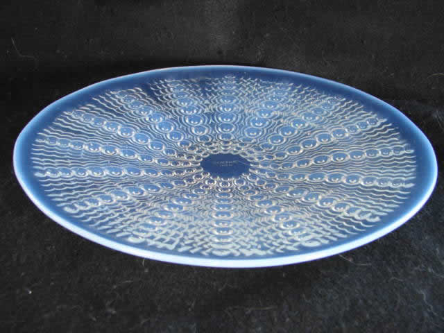 R. Lalique Oursins Plate and Bowl Set