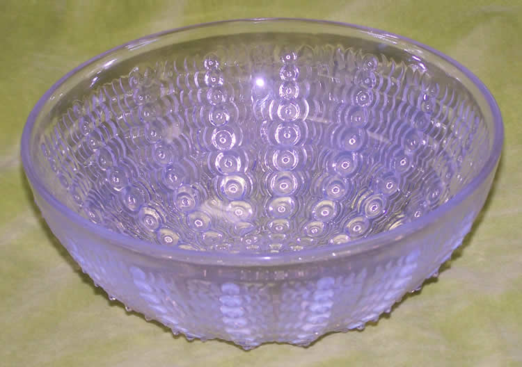Rene Lalique Oursins Bowl
