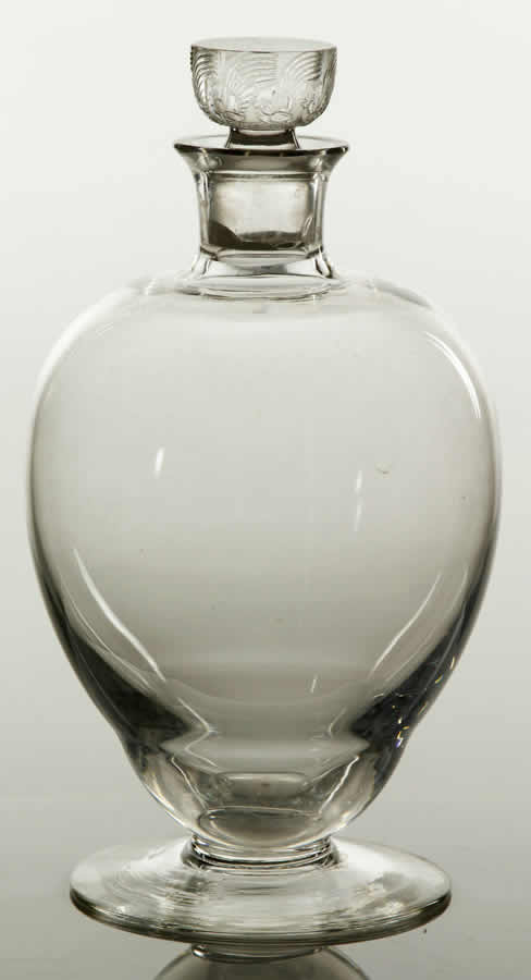 Rene Lalique Decanter Padoue
