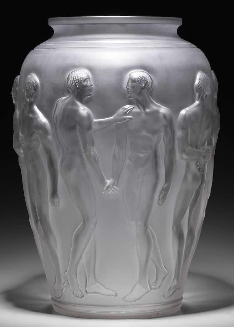 Rene Lalique Palestre Vase Images Rlalique