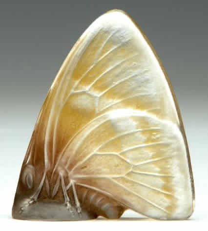 Rene Lalique Papillon Ailes Fermees Seal