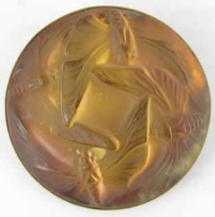 Rene Lalique Papillons Brooch