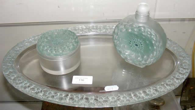 Rene Lalique Paquerettes-3 Vanity Tray