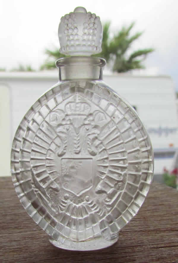 Rene Lalique Perfume Bottle Parfum Imperial