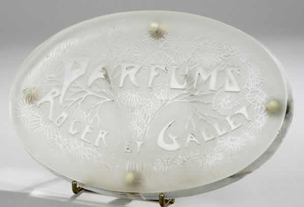 Rene Lalique Parfums Roger Et Gallet Sign