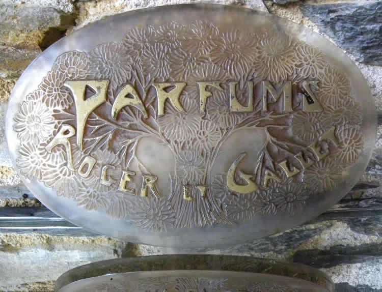 Rene Lalique Sign Parfums Roget Et Gallet