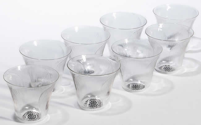 Rene Lalique Glass Pavot