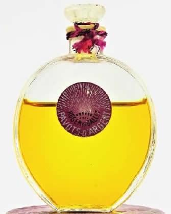 Rene Lalique Perfume Bottle Pavots D'Argent-2