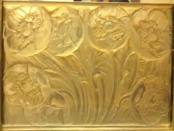 Rene Lalique Pavots-2 Panel