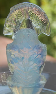 Rene Lalique Pelican Ashtray