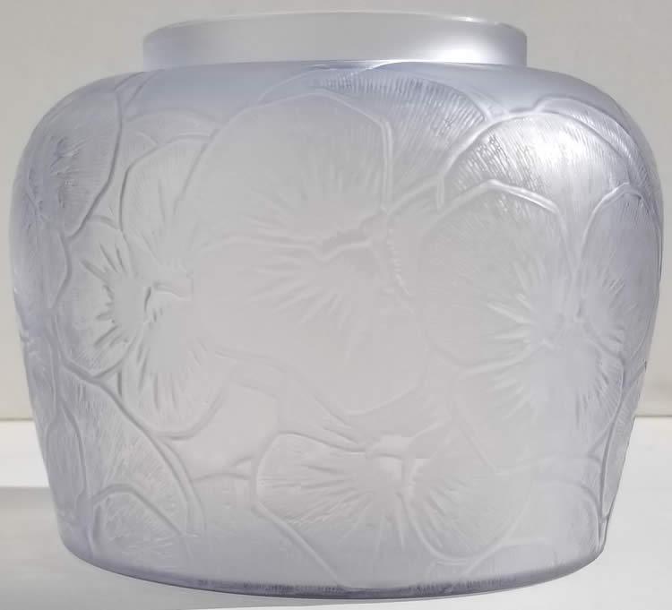 Rene Lalique  Pensees Vase