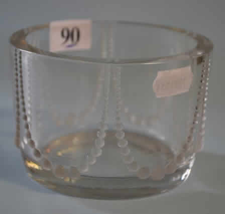 R. Lalique Perles Box Bottom