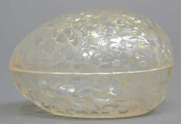 Rene Lalique Pervenches Trinket Box