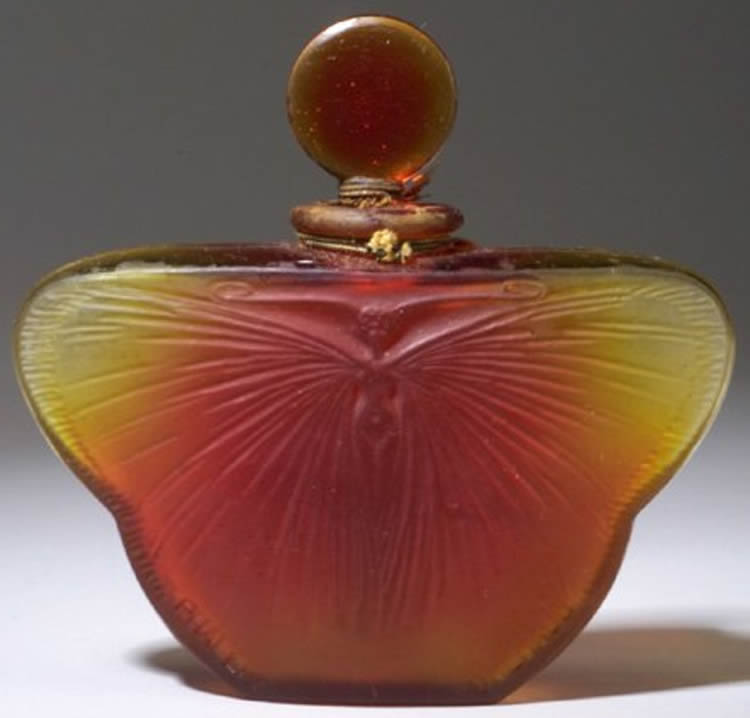 Rene Lalique Phalene-2 Perfume Bottle